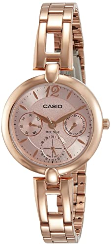 8c75aabaceb Casio Enticer Analog Rose Gold Dial Women s Watch - LTP-E401PG-4AVDF (A1289