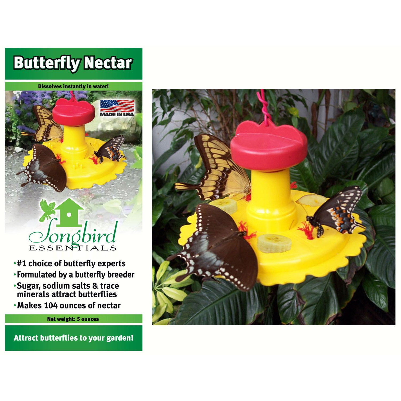 2PK Butterfly Feeder Nectar Combo
