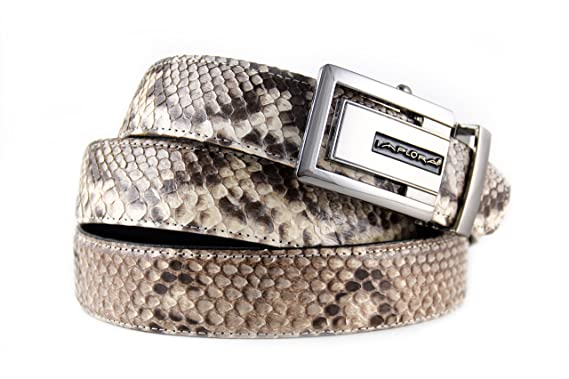e99a8fb87caac2 Image Unavailable. Image not available for. Color: Implora Genuine Python  Snakeskin Belt
