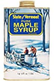 Ferguson Farms 100% Pure Vermont Maple Syrup, Grade B, Vermont Tin 1 Quart 4 fl. oz. (36oz)