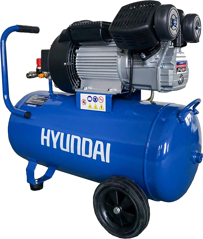 Hyundai, HYAC50-3V, Compresor 50 L-3 HP (Monofásico): Amazon.es ...