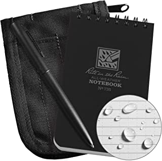 product image for Notebook Kit, 3in x 5in Sheet, Black Cover