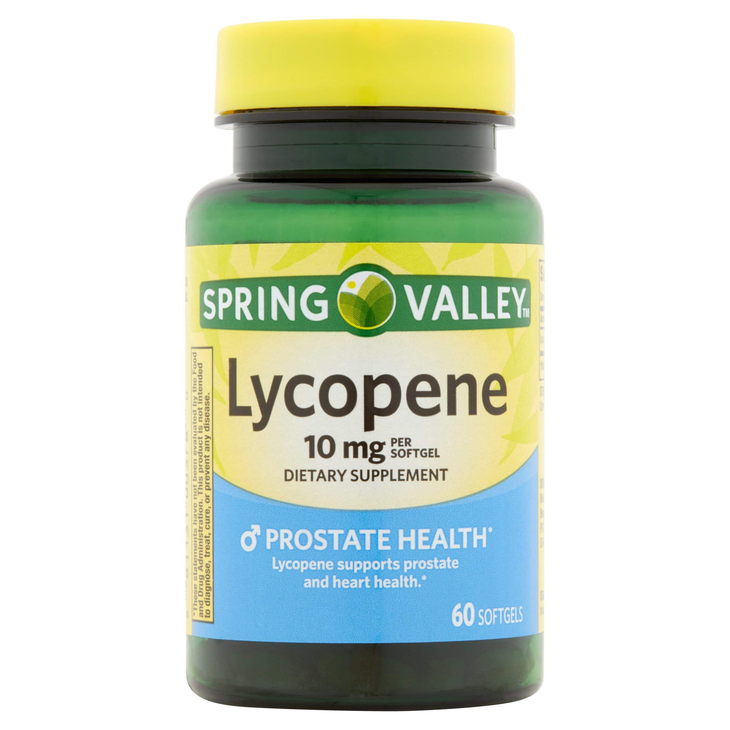 Spring Valley Lycopene 10 mg, Prostate Health, 60 Softgels (Pack of 2) by Spring Valley