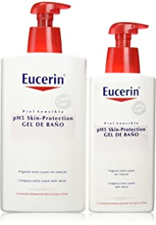 Eucerin Family Pack Ph5, Pack de Gel De Baño 1000 ml y Gel De Baño