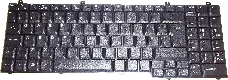 Nuevo UK Teclado de portátil Packard Bell EasyNote W3900 UK ...
