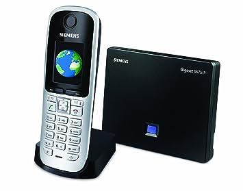 siemens gigaset s675ip dect single handset cordless phone s30852 rh amazon ca Siemens Gigaset Telephone Gigaset Siemens Co Je To