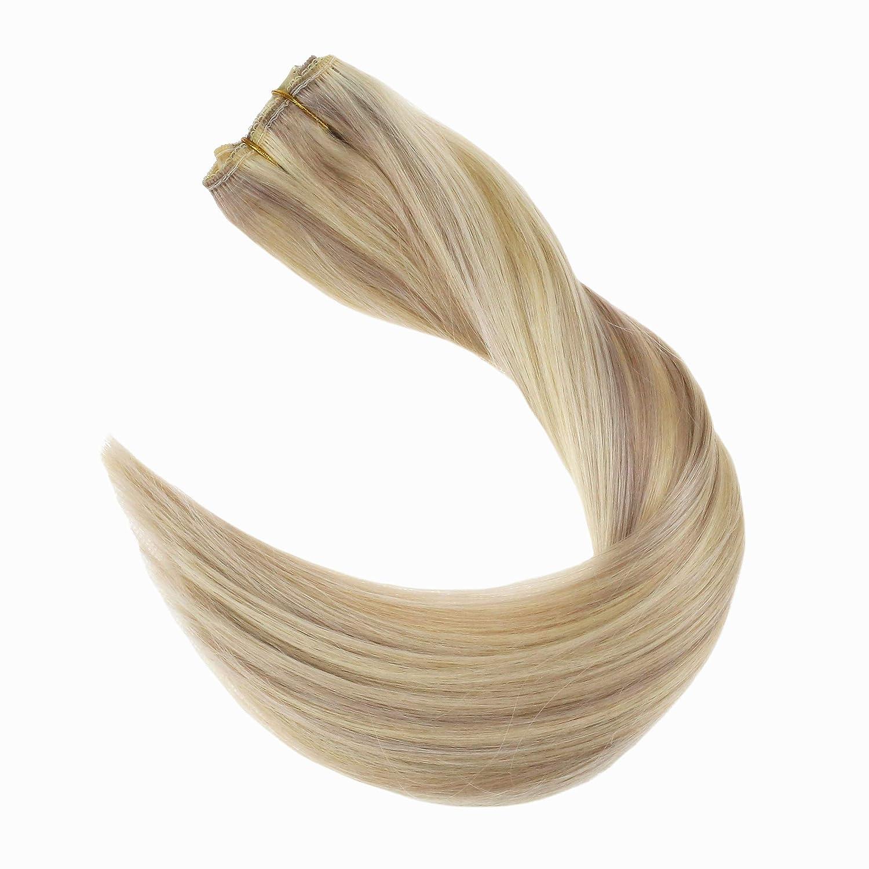 Band-haarverlängerungen Haarverlängerung Und Perücken Voller Glanz Band Haar 20 Pcs 50 Gramm Farbe #2 Dunkelbraun Verblassen Zu #6 Und #18 Asche Blonde Remy Haar Dip Dye Verlängerung De Cheveux