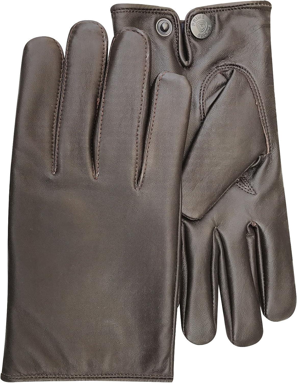New top quality black slim fit driving dressing fashion gloves lambskin 084