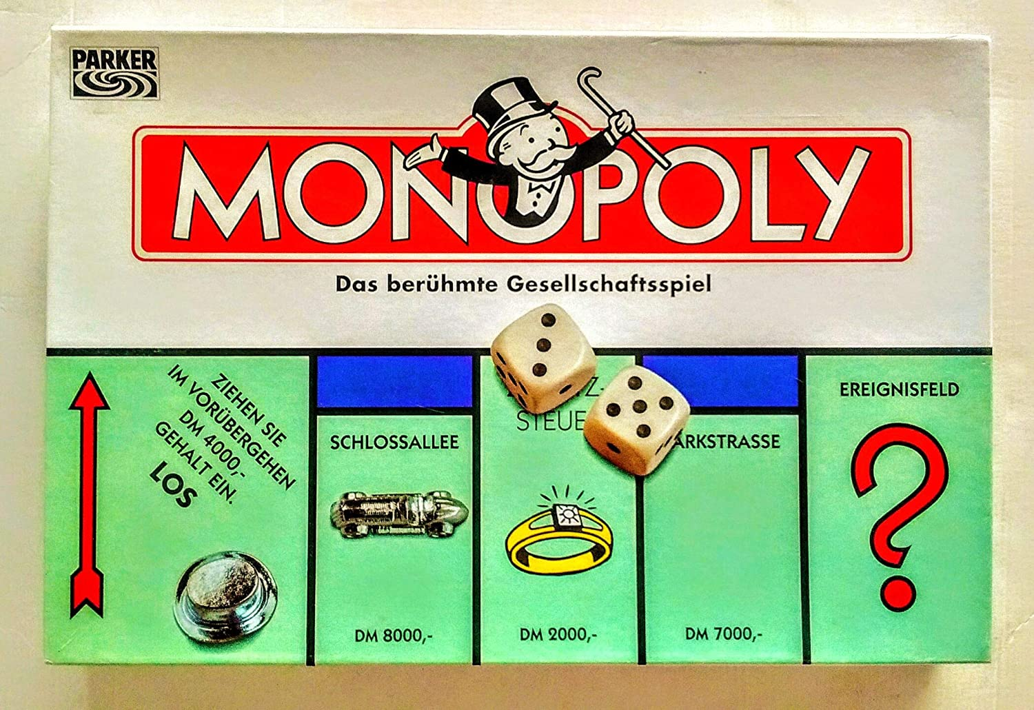 Anfangsgeld Monopoly