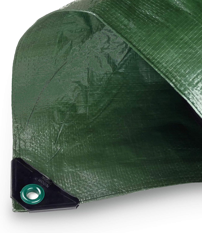 Noor 126675 - Malla Anti-heladas para invernaderos (Tela), Color Verde, 3,00 x 6,00 m