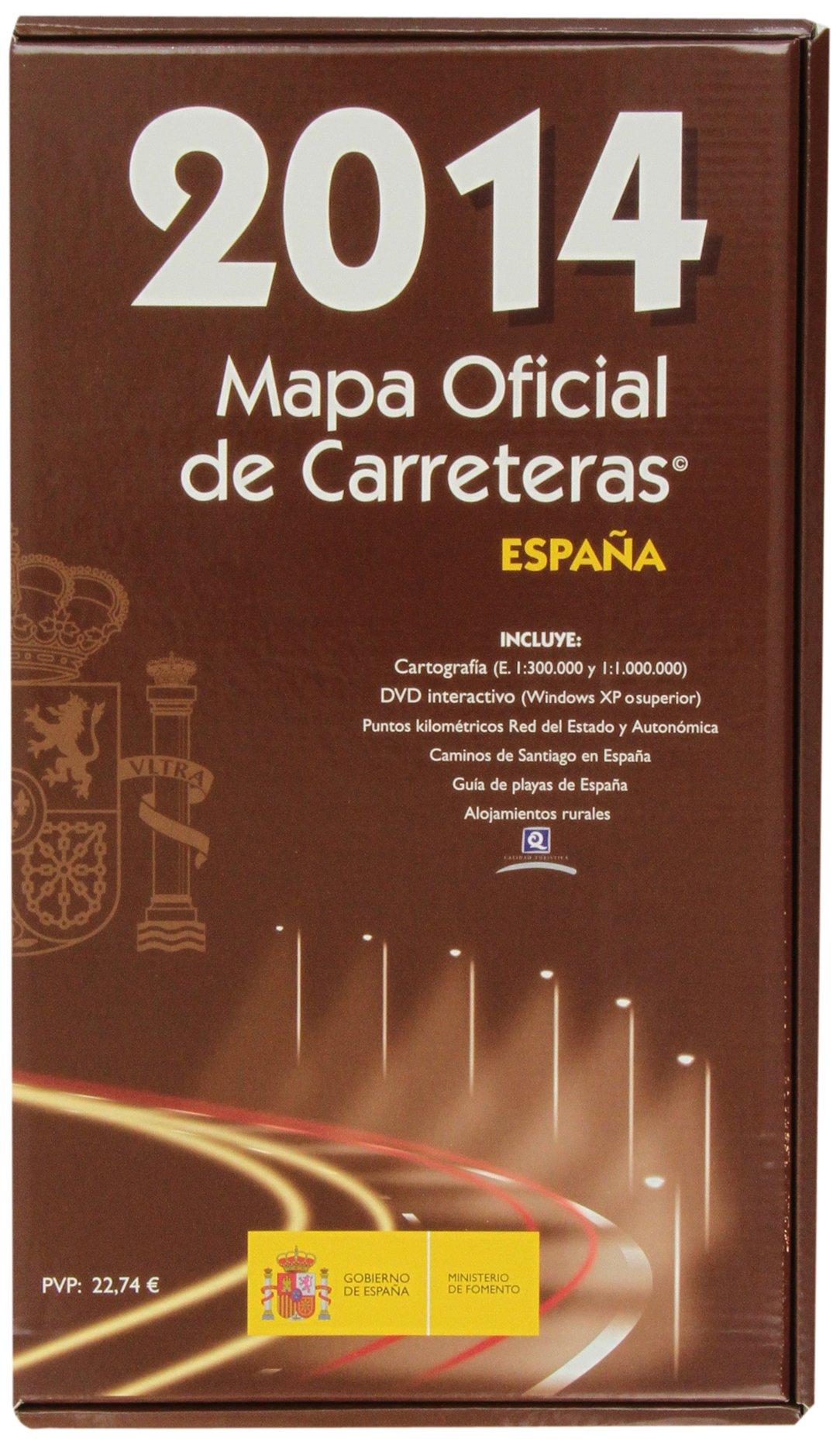 MAPA OFICIAL DE CARRETERAS 2014. Edición 49.: Amazon.es ...