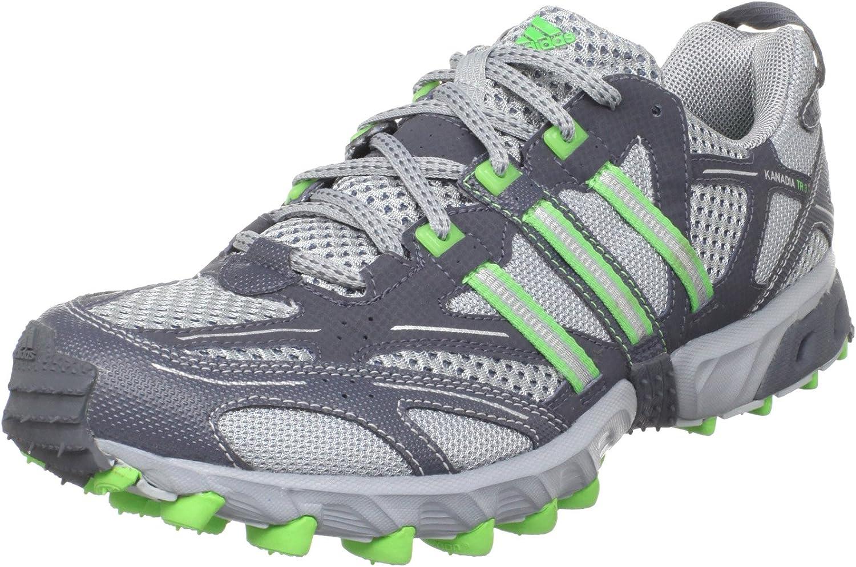 ozono Coincidencia Turismo  Amazon.com   adidas Men's Kanadia TR 3 Trail Running Shoe, Silver/Intense  Green/Deepest Space, 14 M US   Running
