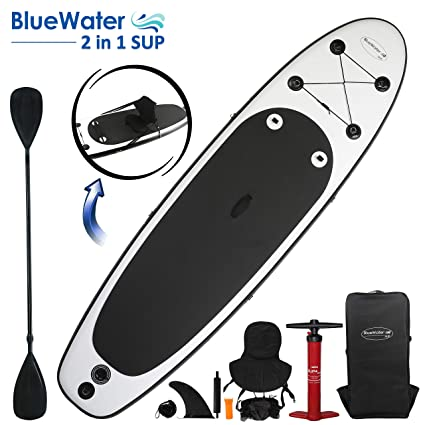 Amazon.com: White Lightning wl-cosup10326 2-en-1 Paddle Surf ...