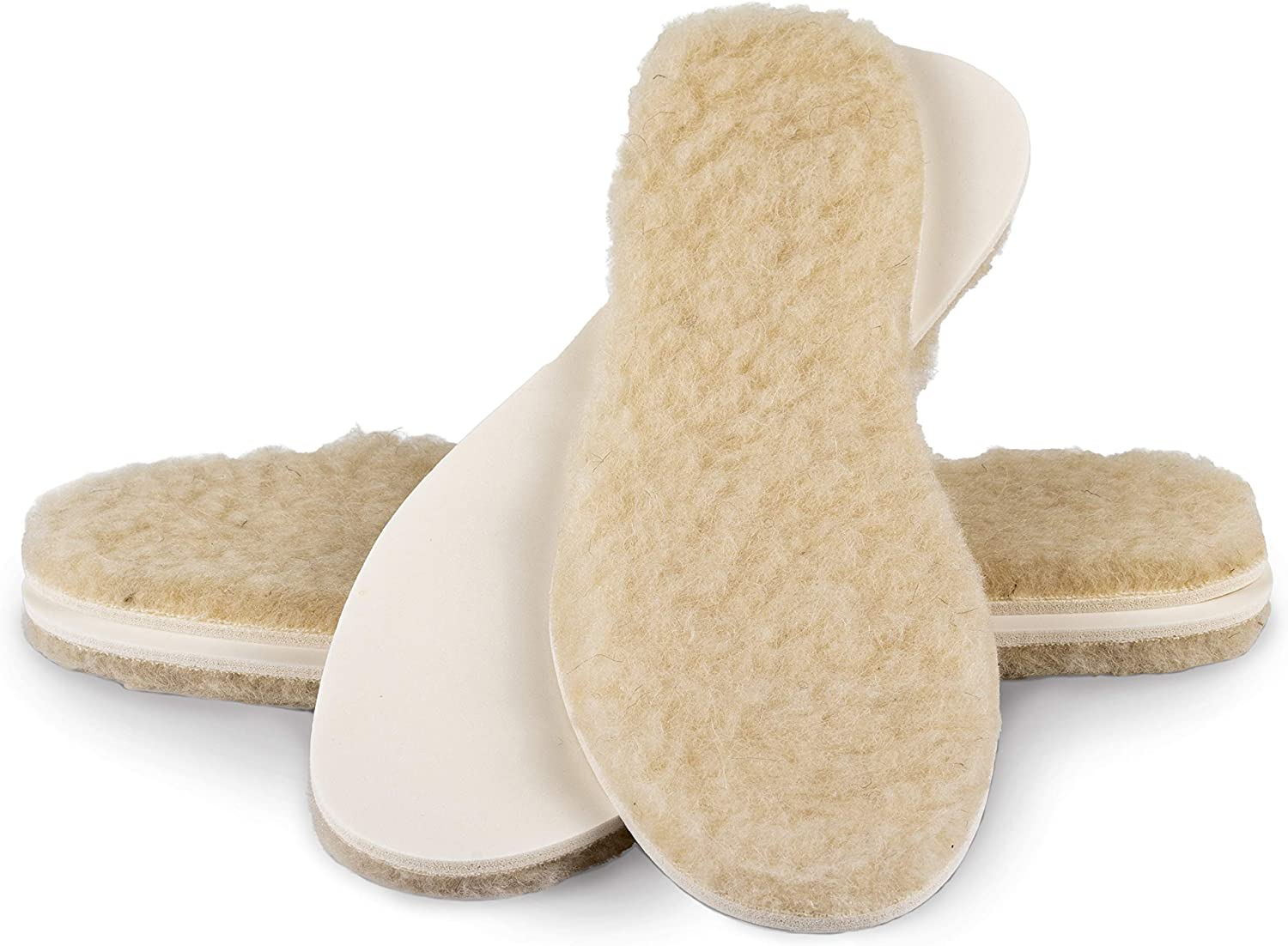 biped Extra Thick Lambs Wool Soles 2 Pair Set z1015