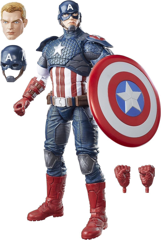Avengers- Marvel Legends: Captain America Figura Capitán ...