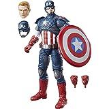 Marvel - Figura de Captain America, Avengers Legends (Hasbro B7433EU4)