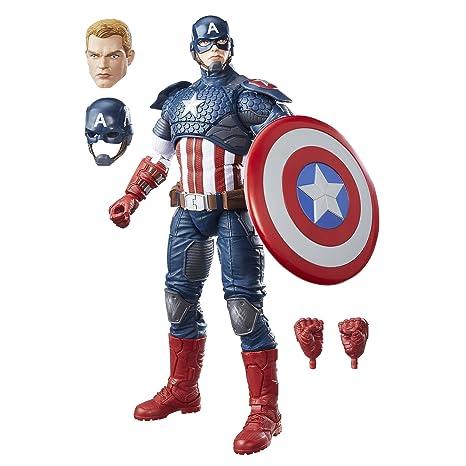 Figura Capitánhasbro Avengers Marvel B7433eu4 LegendsCaptain America SUpGzMqV