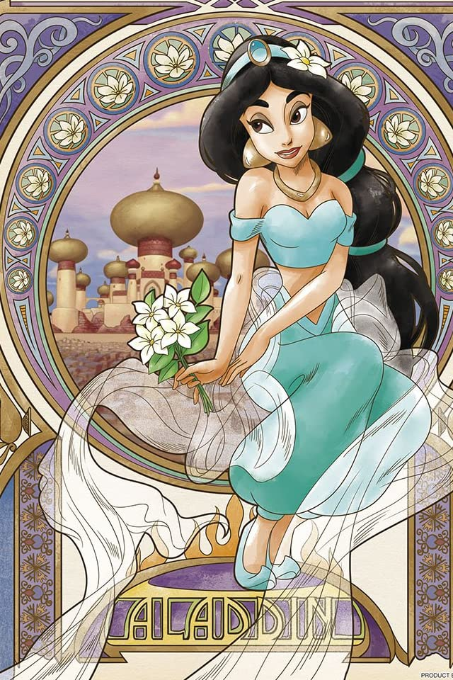 ディズニー ジャスミン iPhone(640×960)壁紙画像