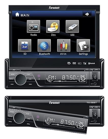 amazon com fahrenheit tid 893b in dash source unit dvd player rh amazon com Fahrenheit DVD Player Farenheit Car System
