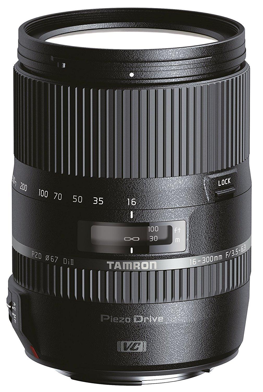 Tamron B016E 16-300mm F/3.5 6.3 Di II VC PZD Lens for Canon