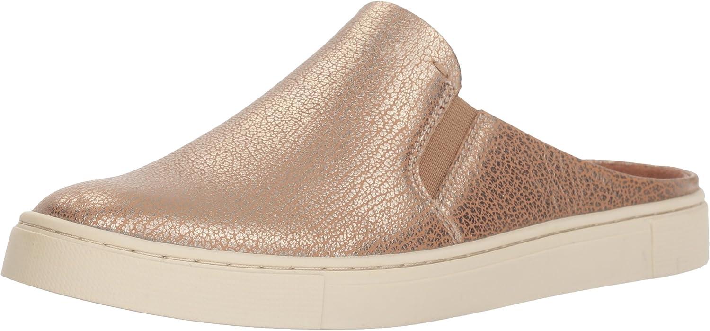Frye Women's Ivy Mule Sneaker, Gold, 11