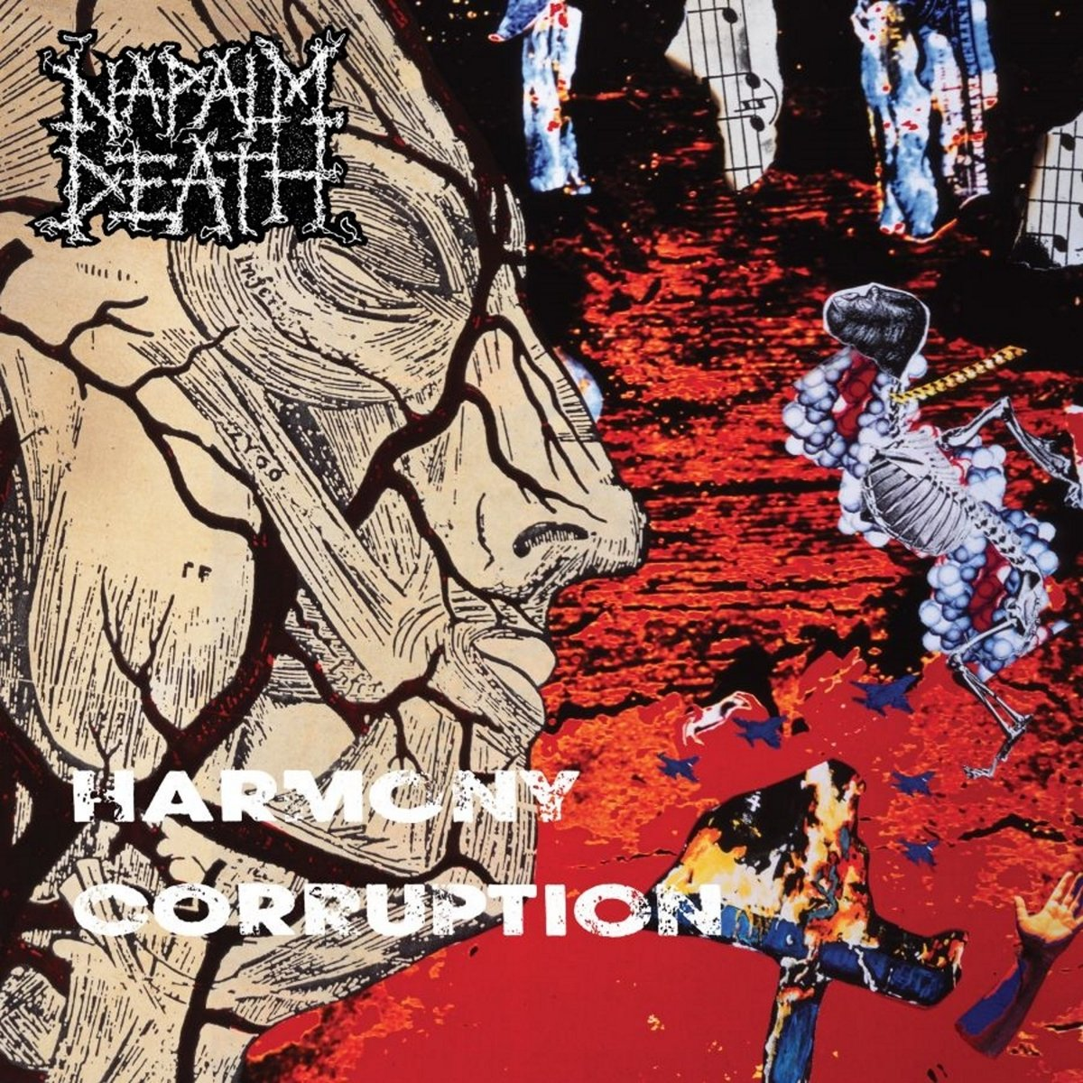 Vinilo : Napalm Death - Harmony Corruption (LP Vinyl)