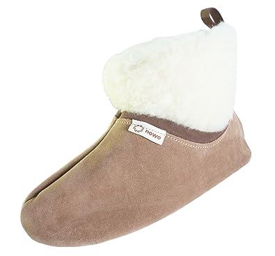 Hausschuhe Damen Herren Pantoffeln Rutschfester Sohle Bettschuhe Hüttenschuhe