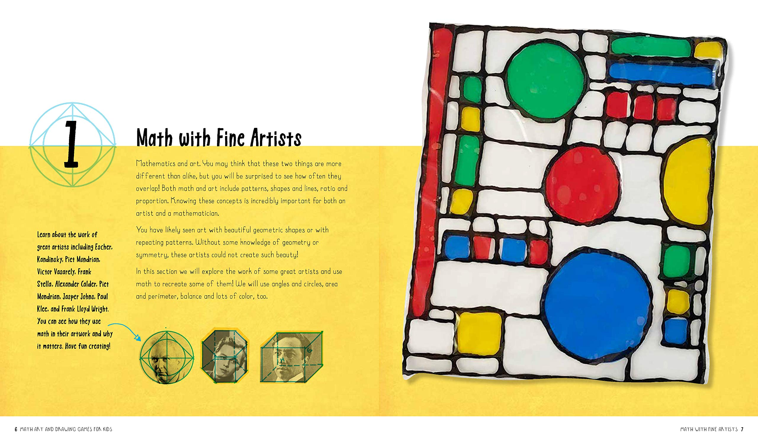 Math Art and Drawing Games for Kids: 40+ Fun Art Projects to ...