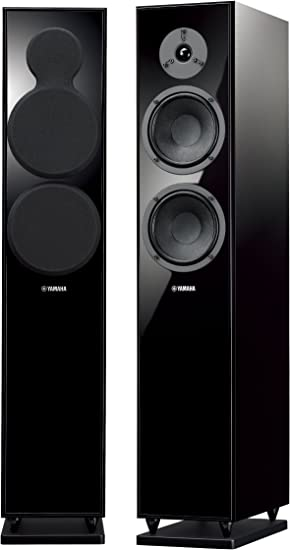 Amazon Com Yamaha Ns F150 Floor Standing Speaker Black Home