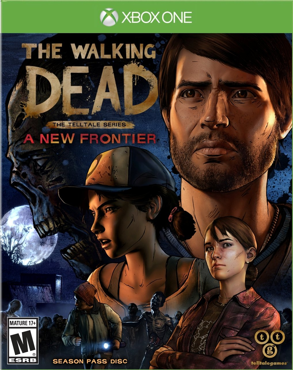 ff9fe22a850e The Walking Dead  The Telltale Series A New Frontier - Xbox One. by  Telltale Games
