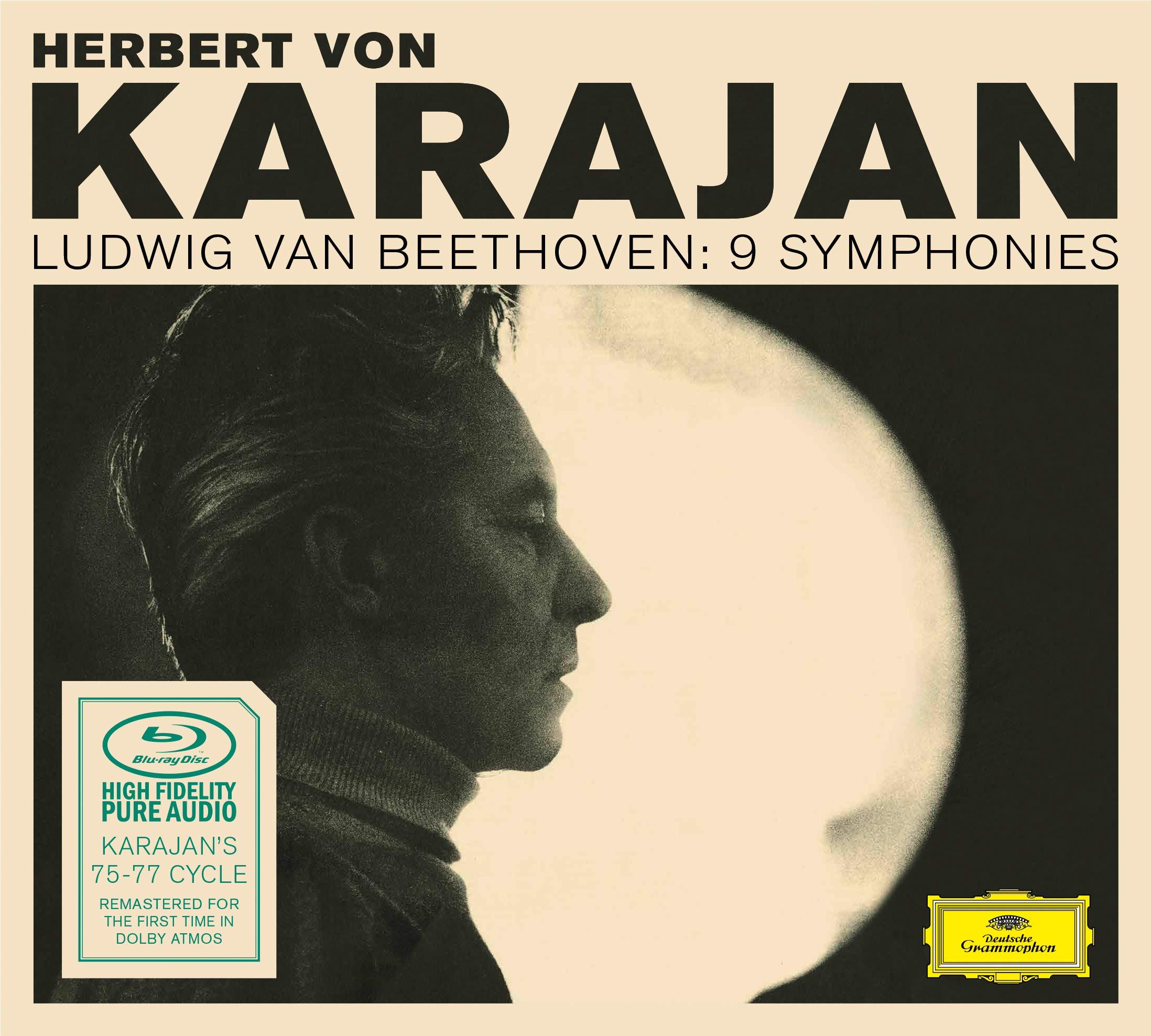 Blu-ray Audio : HERBERT VON KARAJAN/BERLINER PHILHARMONIKER - Symphonies (Blu-ray Audio)