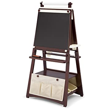 Bon Delta Children 3 In 1 Kids Art Easel With Storage, Brown