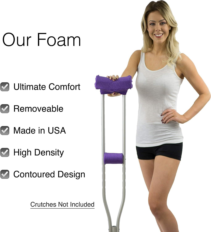 Amazon.com: Crutcheze - Almohadilla de muleta para la axila ...