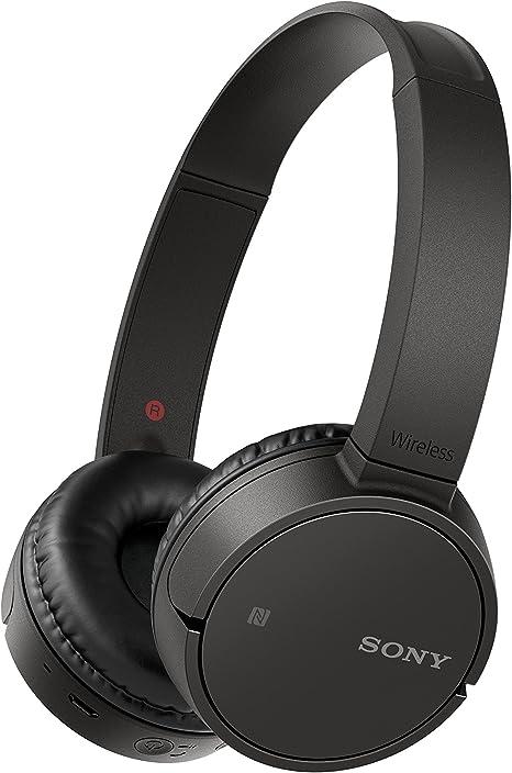 Sony WHCH500 Auriculares inalámbricos de diadema (Bluetooth, NFC, duración de batería de hasta 20 h, diafragma de 30 mm, manos libres), Negro: Sony: Amazon.es: Electrónica