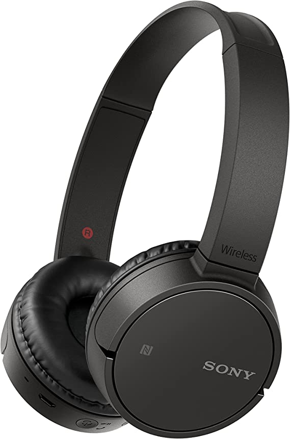 Amazon Com Sony Wh Ch500 Wireless On Ear Headphones Black Whch500 B Electronics