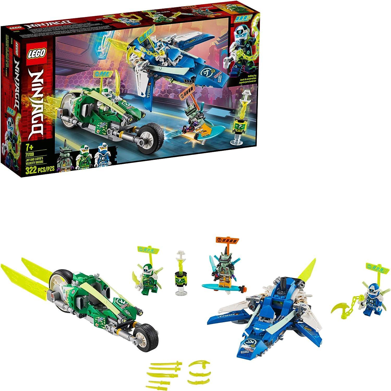 Lego Ninjago Jay and Lloyd/'s Velocity Racers NEW DAMAGED BOX 71709