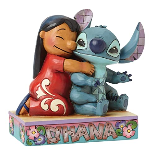 Disney Traditions by Jim Shore Lilo and Stitch Stone Resin Figurine, 4.875