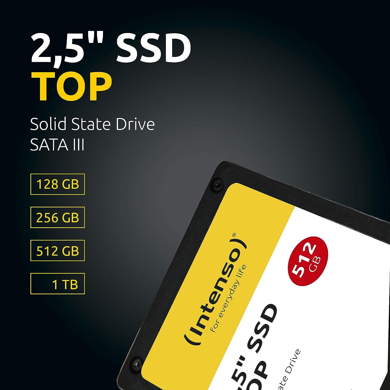 Intenso Interne Ssd Festplatte 256gb Top Performance Computer Zubehör