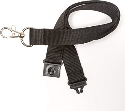 BLACK 100 CLEAR VINYL ID BADGE HOLDERS LOT 100 NECK STRAPS LANYARD WITH CLIP