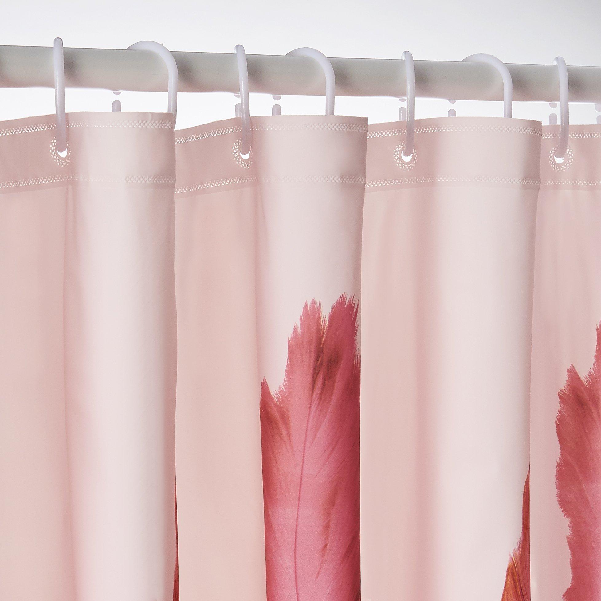 Bathroom Rugs Shower Curtains: S.A.Y.C. Flamingo Bathroom Set Shower Curtain