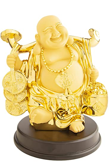 Happy Man Laughing Buddha Money Man Showpiece.Gift for House Warming Ceremony.Showpieces Show