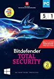 BitDefender Total Security Latest Version (Windows) - 5 User, 1 Year (Activation Key Card)