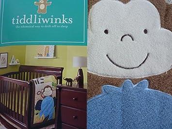 Amazon.com: Tiddliwinks Safari Amigos 3 piezas Juego de cama ...
