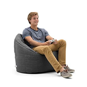 Swell Big Joe Lux 0638477 Lux By Milano In Union Bean Bag Gray Ibusinesslaw Wood Chair Design Ideas Ibusinesslaworg