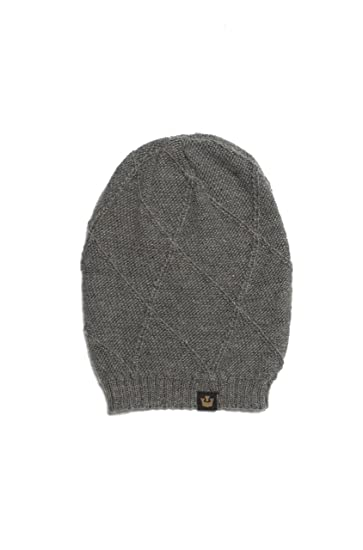 82e681076d0 Goorin Bros. Unisex Adult Soho Beanie Hat - Gray - One Size at Amazon Men s  Clothing store