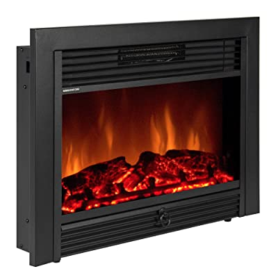 Best Choice Products VD-51075WH Embedded Fireplace