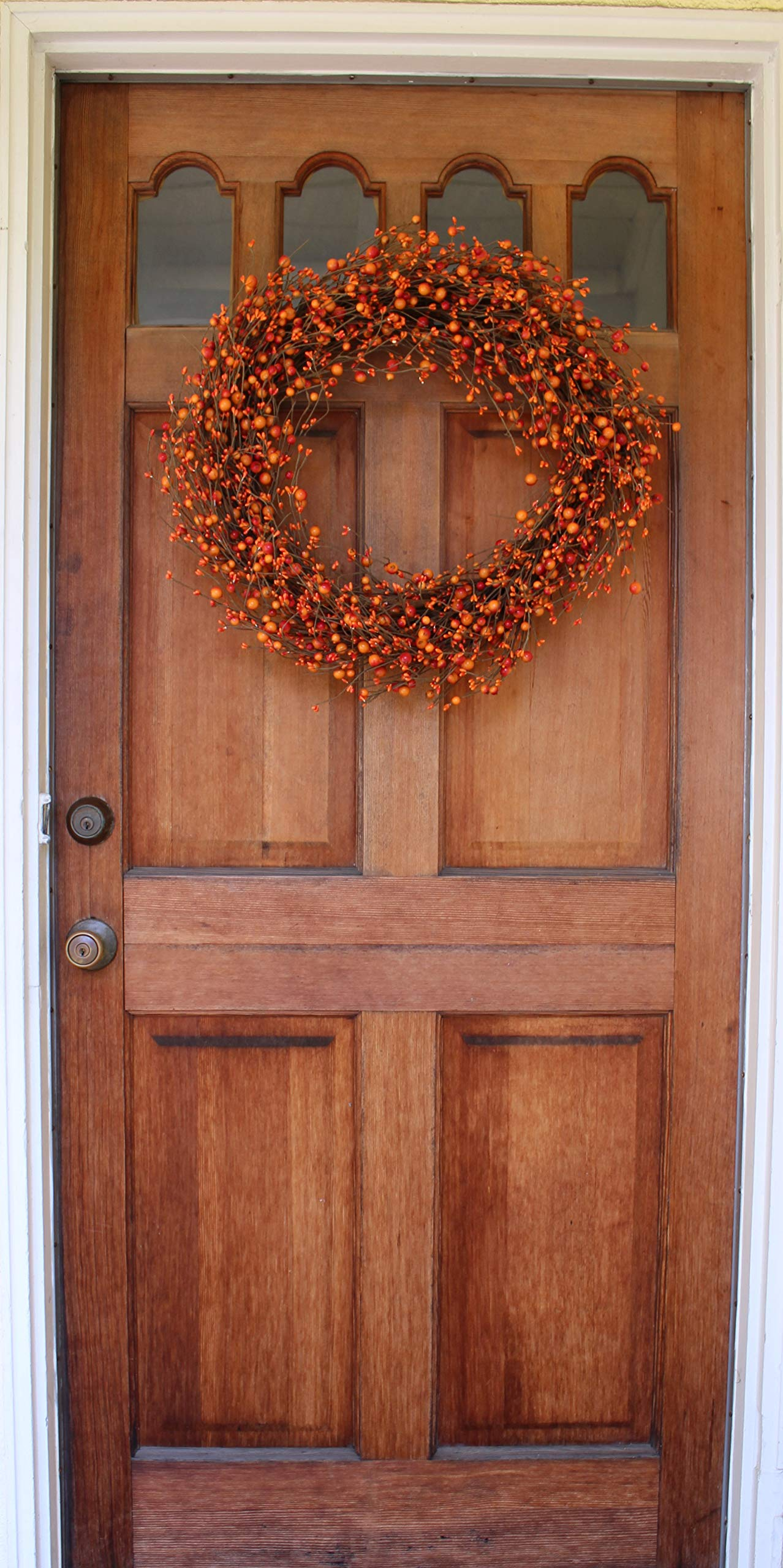 The Wreath Depot Weston Fall Berry Wreath, 22 Inches by The Wreath Depot (Image #4)
