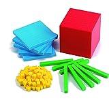 Edx Education Four Color Plastic Base Ten Set