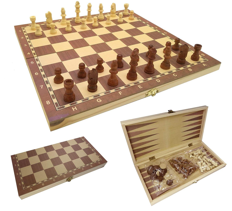 日本製 チェスバックギャモンの1つの携帯用折る木セットに付きCT cm 3及び草案34 B077HZVCH6 x 3及び草案34 34 cm B077HZVCH6, 諏訪楽器:96e458d9 --- pizzaovens4u.com