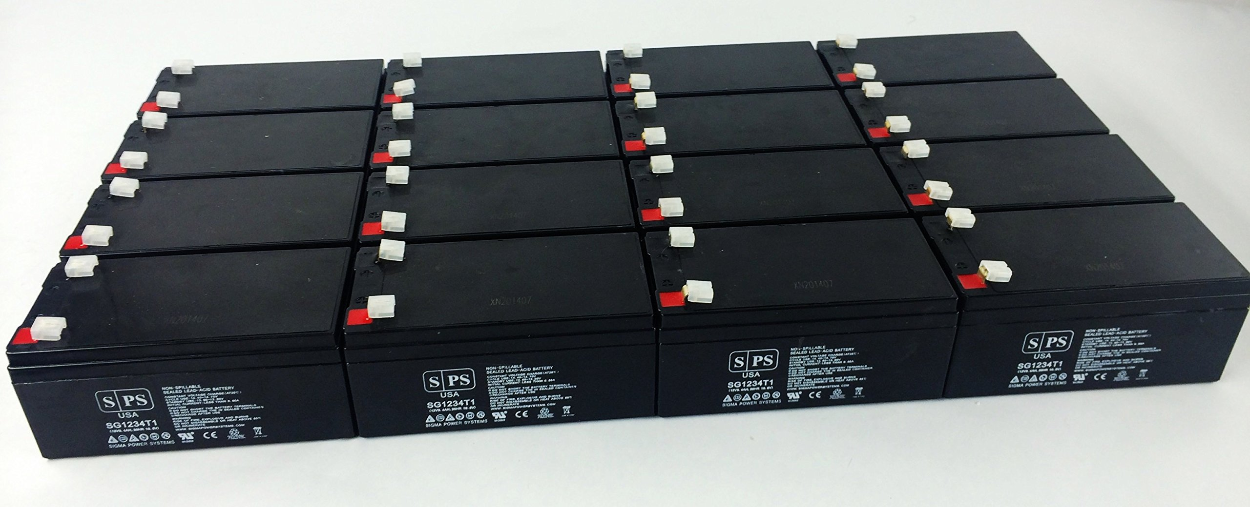 Replacement Battery for Spacelabs Medical MEDIA ANALYZER - SPS Brand ( 16 pack ) by SPS